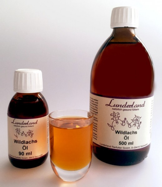 Lunderland Wildlachsöl 500 ml