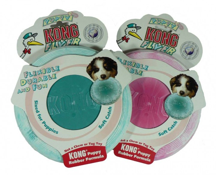 Puppy Kong Flyer - speziell für Welpen und kleine Hunde