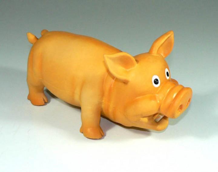 Latexschwein - mit Grunzstimme Gr. M
