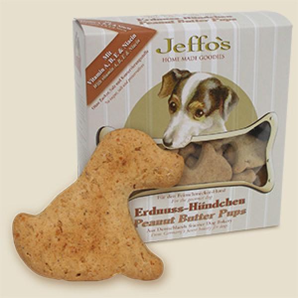 Jeffos Erdnuss-Hündchen 250g