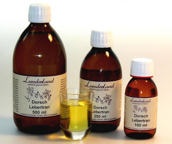 Lunderland Dorschlebertran 500 ml