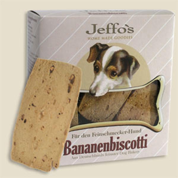 Jeffos Bananenbiscotti 250g