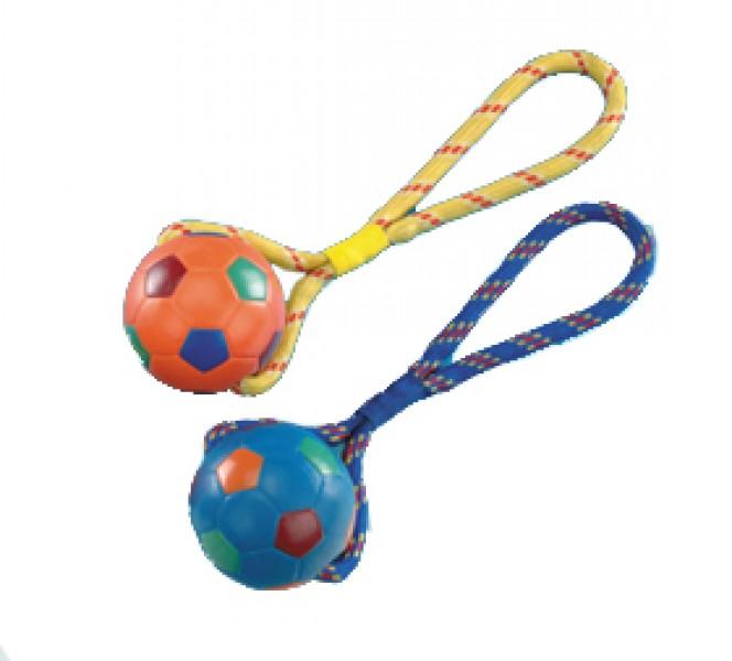 Fußball mit Seil - groß