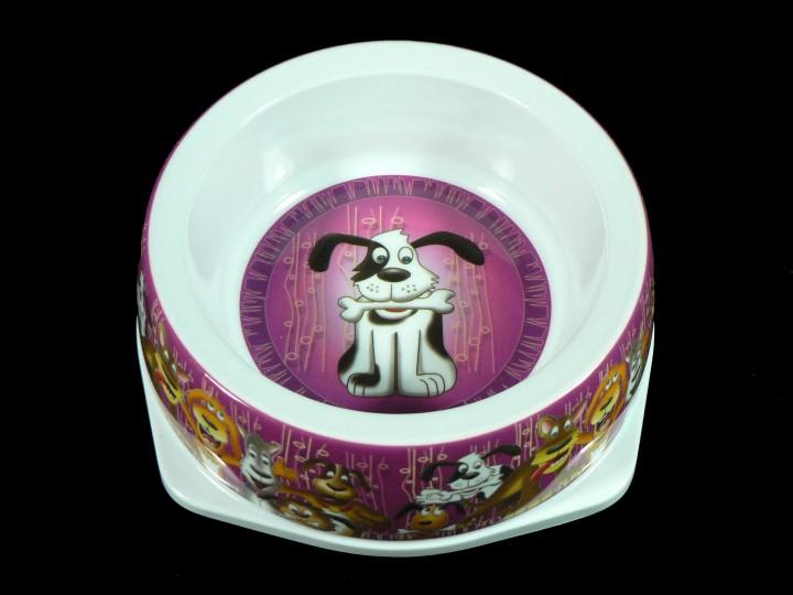 Melamin Hundenapf Dog Bone 500 ml - rutschfest