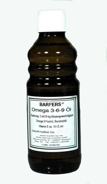 Angebot: BARFERS® Omega 3-6-9 Öl 250ml