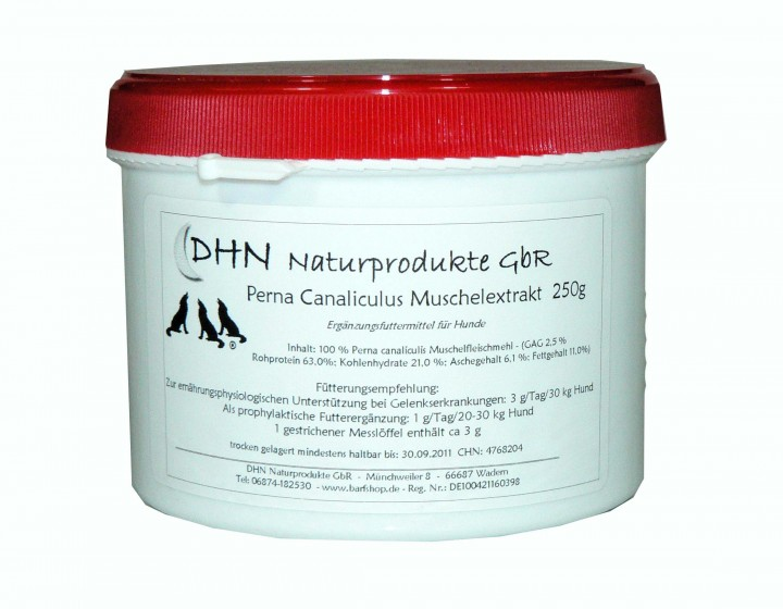 DHN® Grünlippmuschelextrakt 250g
